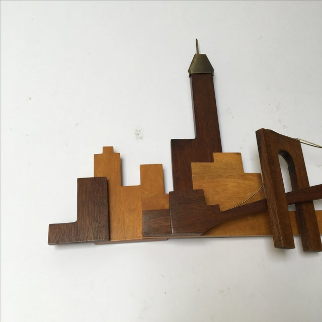 Vintage Wooden Wall Sculpture - Image 3 of 10