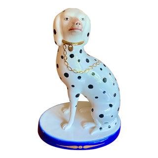 Mottahedeh Porcelain Dalmatian Statue For Sale