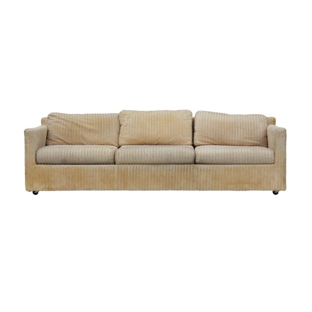 Parsons Sofa by Milo Baughman for Thayer Coggin For Sale - Image 11 of 11