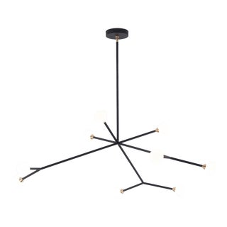 Super Nova Chandelier by McKenzie & Keim For Sale