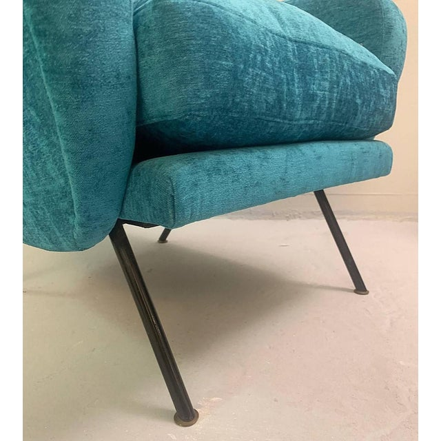 1950s 1950s Italian Armchairs- A Pair For Sale - Image 5 of 6