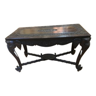 Anglo Indian Elephant Table For Sale