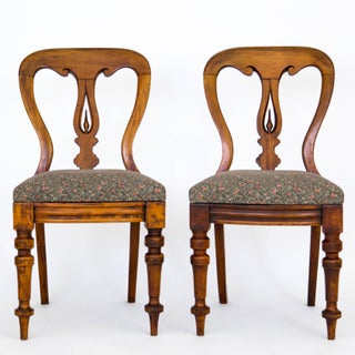 Pair of Victorian Side Chairs C. 1860 Preview