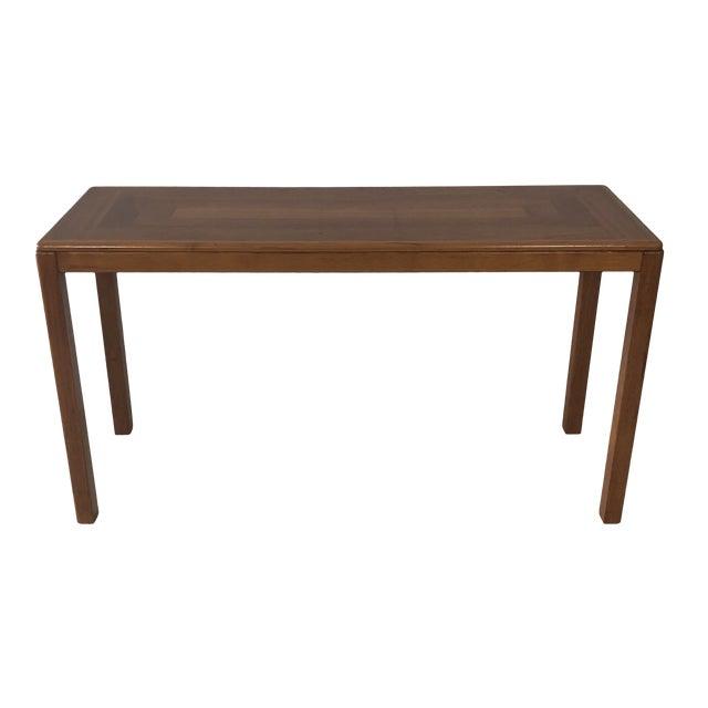 1970s Laurits M Larsen Danish Teak Console Table For Sale