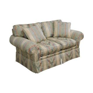 Henredon Traditional Upholstered Loveseat For Sale