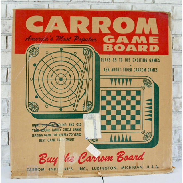 Vintage Mid-Century Game Board - Image 5 of 6