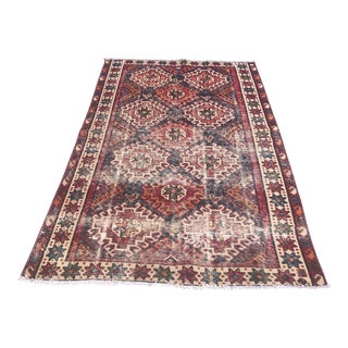 """Vintage Persian Rug - 4'2"""" X 7'1"""" For Sale"""