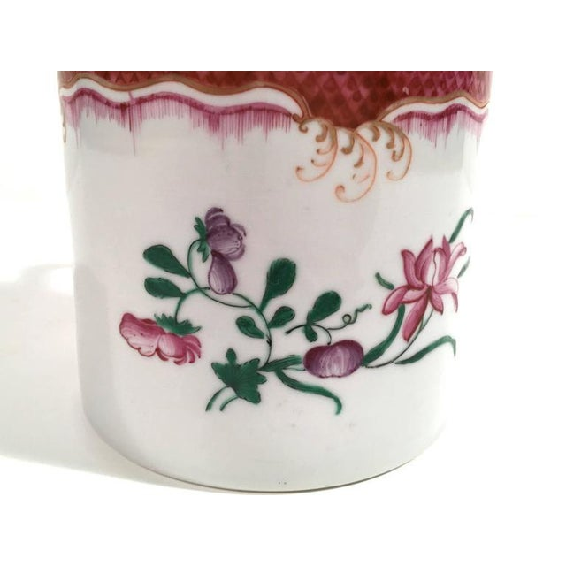 Chinese Export Famille Rose Porcelain Mug - Image 5 of 9