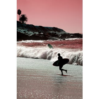 Contemporary 'La Jolla – Coral' Photography by Kristin Hart, 48x32 For Sale
