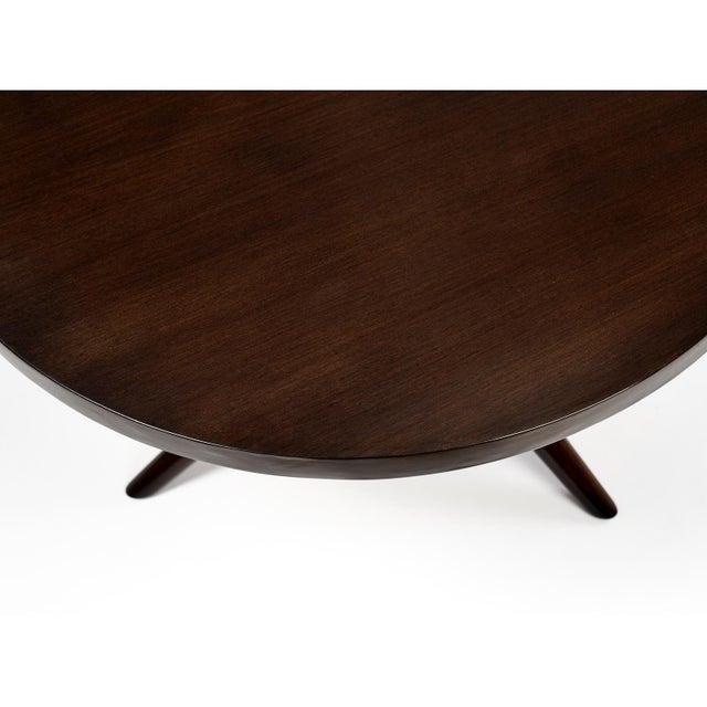 T.H. Robsjohn Gibbings Tripod Base Side Tables - a Pair For Sale In New York - Image 6 of 10