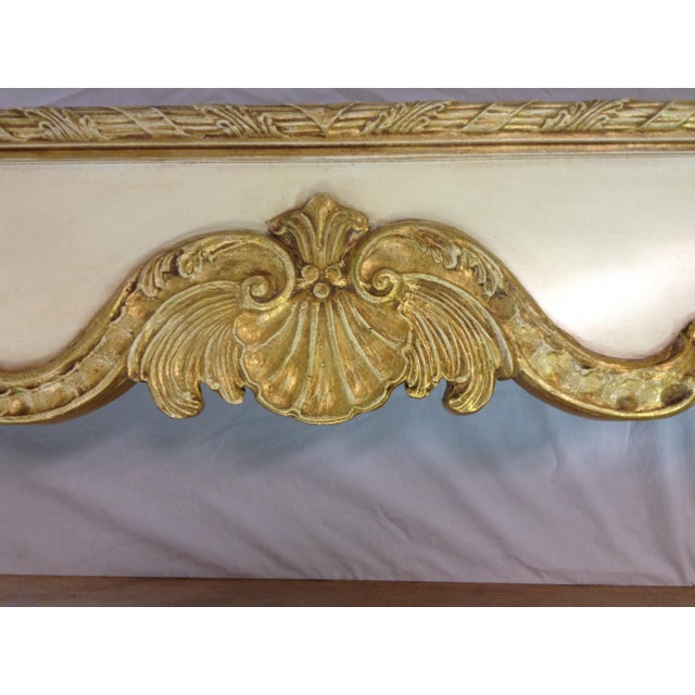 Baroque Friedman Brothers Hand Carved Wooden Cornices - A Pair For Sale - Image 3 of 4