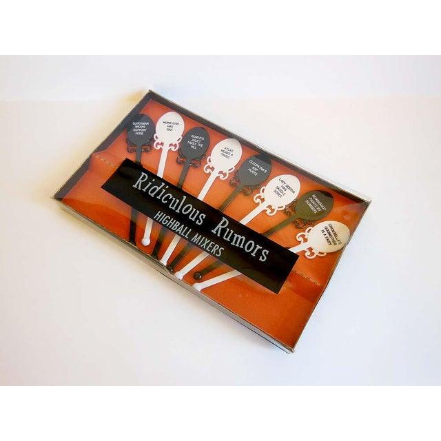 Mid Century Vintage Novelty Swizzle Sticks - Image 2 of 6