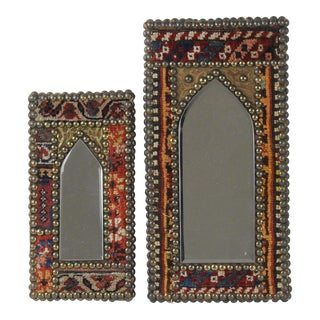 Moorish Style Decorative Wall Mirrors - a Pair For Sale