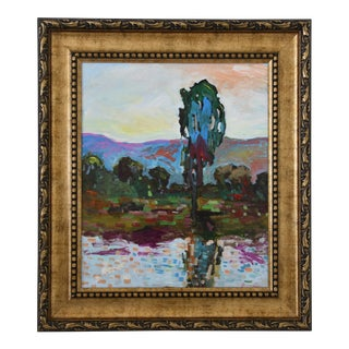 Juan Pepe Guzman Plein Air Camarillo California Landscape Oil Painting
