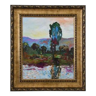 Juan Pepe Guzman Plein Air Camarillo California Landscape Oil Painting