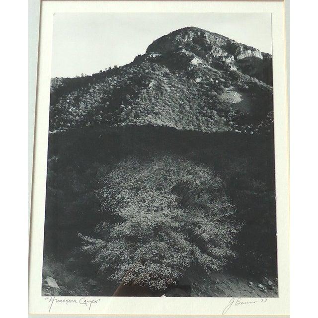 "Framed ""Huachaca Canyon"" Photograph - Image 3 of 5"