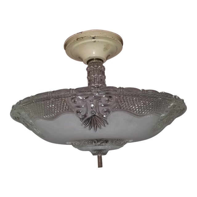 Victorian Style Chandelier Ceiling Fixture - Image 1 of 7
