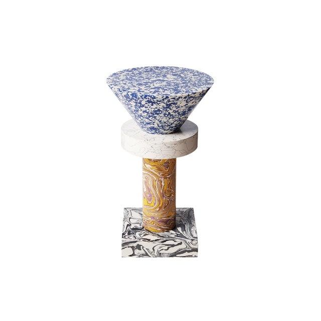 Contemporary Tom Dixon Swirl Table Cone For Sale - Image 3 of 8