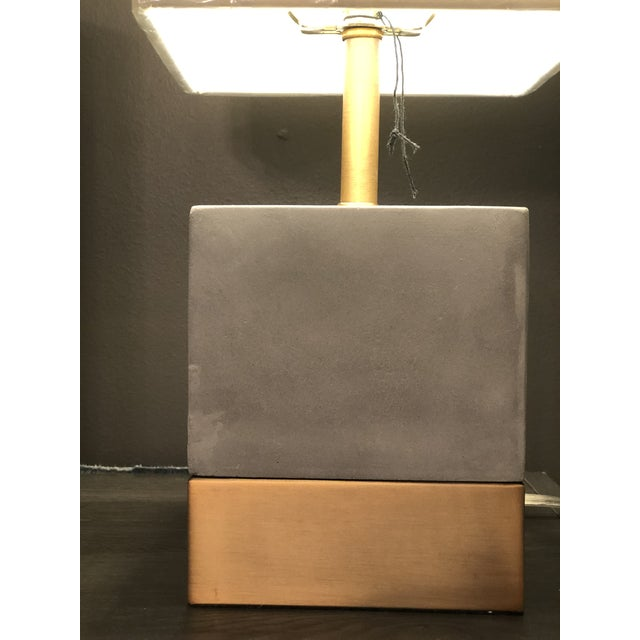Kenneth Ludwig Chicago Serena Concrete Lamp For Sale In Chicago - Image 6 of 7