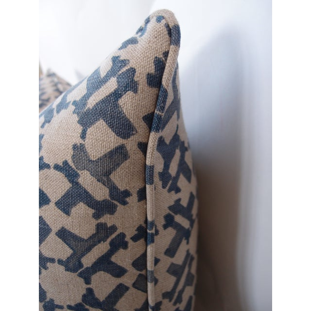 Contemporary Peter Dunham Indigo Pillow For Sale - Image 3 of 4