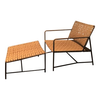 Richard Frinier for Brown Jordan Stretch Lounge Chair For Sale