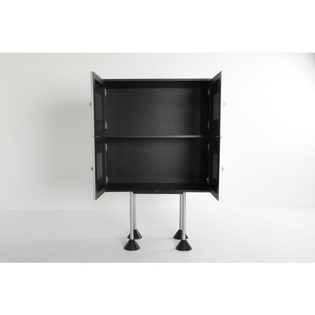 1980s Pastoe Postmodern Memphis Style Cabinet by Gerard Van Den Berg For Sale - Image 6 of 12