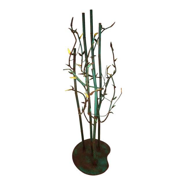 Steel Bamboo Sculpture - Image 1 of 5