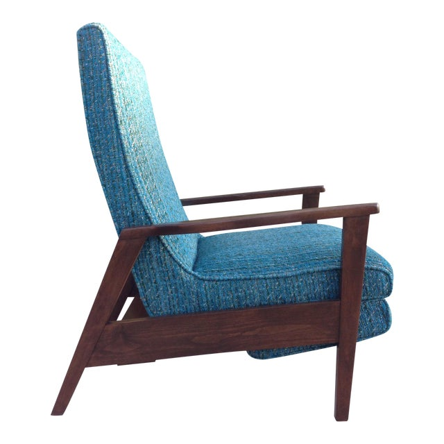 Mid-Century Modern Recliner Lounge Chair For Sale