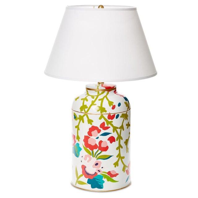 Dana Gibson Chintz Tea Caddy Lamp - Image 1 of 3