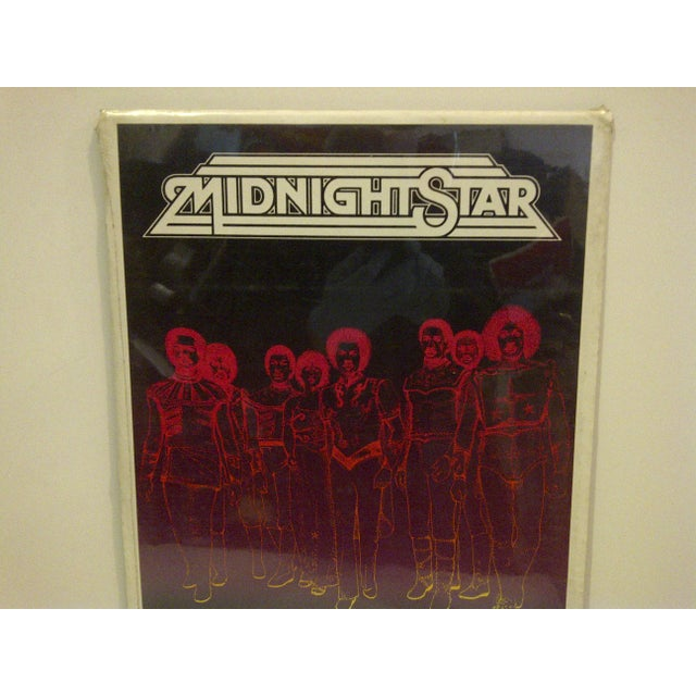 """American 1981 Vintage """"Midnight Star"""" Concert Poster For Sale - Image 3 of 4"""