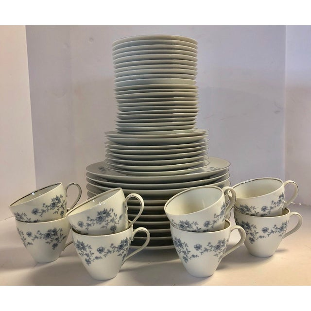 Traditional Johann Haviland Bavaria Germany Fine China Set- 48 Pieces For Sale - Image 3 of 10