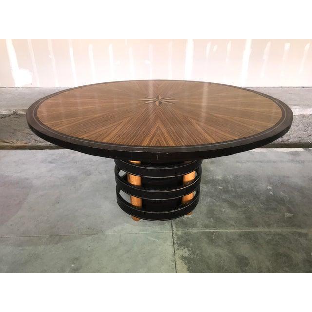David Easton for Henredon Furniture Dining Table For Sale - Image 12 of 12