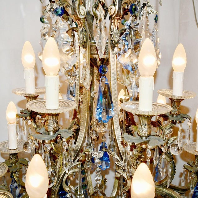 Rococo Chandelier For Sale - Image 4 of 12
