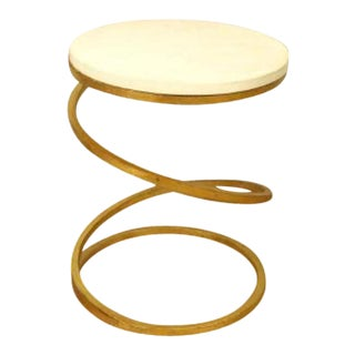 Swirl Vintage Modern Side Table