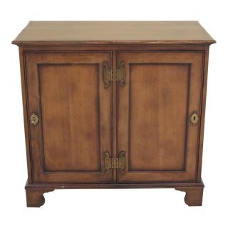 Baker 2 Door Small Accent Console Cabinet For Sale