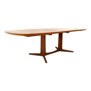 Mid-Century Modern Niels Otto Moller for Gudme Mobelfabrik Teak Expanding Dining Table For Sale