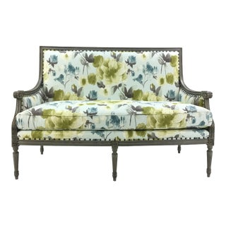 Currey & Co. Lancaster Settee/Bench For Sale
