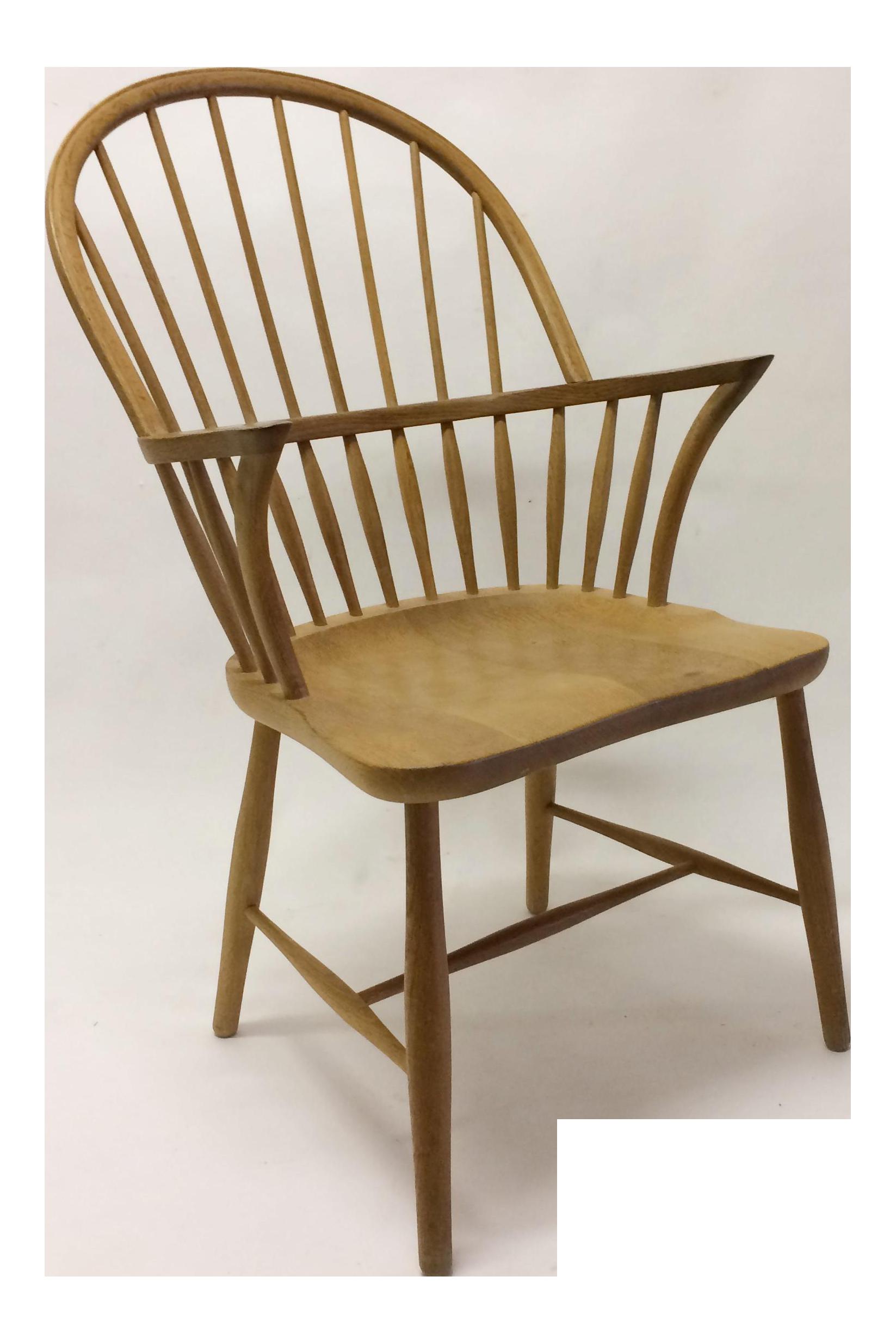 1960sVintage Carl Hansen U0026 Son For Frits Henningsen Danish High Back Windsor  Chair