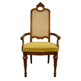 1970s Vintage Drexel Heritage Estorada Collection Spanish Mediterranean Style Chair For Sale