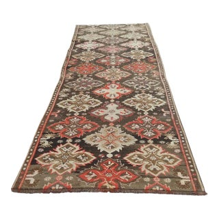 Antique Kars Terekeme Long Runner - 3′5″ × 10′9″ For Sale