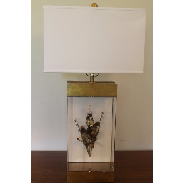 Lily of the Valley Lamp For Sale In New Orleans - Image 6 of 11