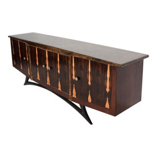 Mid-Century Mexican Modernist Credenza by Escudero Pepe Mendoza For Sale