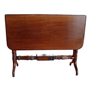 English Sutherland Center Table For Sale