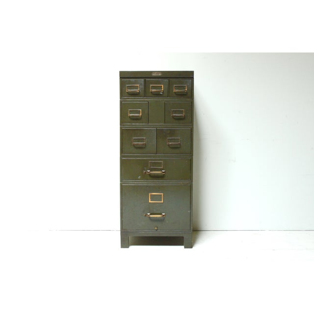 Industrial Metal File Cabinet - Image 2 of 4
