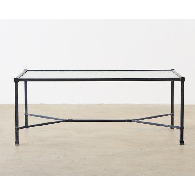 Neoclassical Brown Jordan Venetian Aluminum Cocktail Tables For Sale - Image 3 of 13