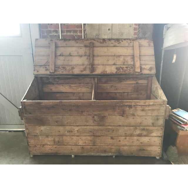 French French Country Firewood Box For Sale - Image 3 of 4