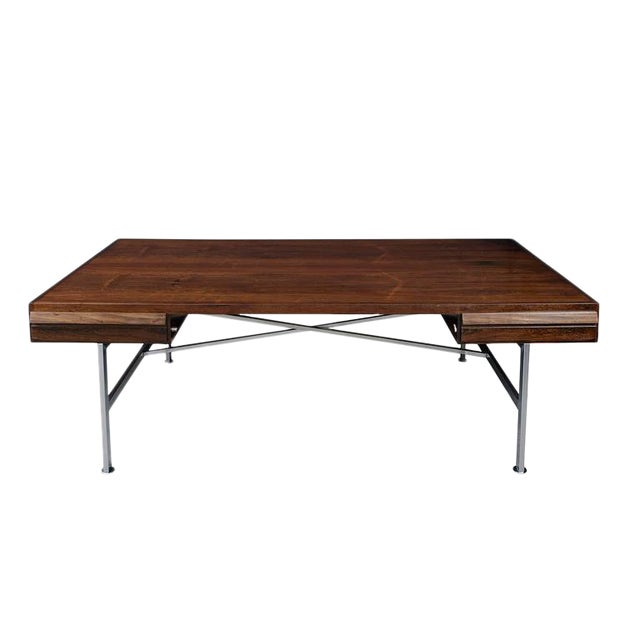 Illum Wikkelsø Rosewood Desk For Sale