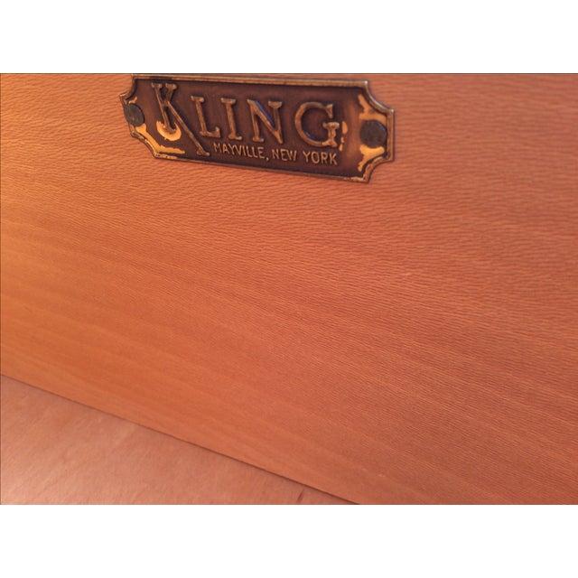 Kling Mid-Century Maple Dresser For Sale - Image 5 of 5