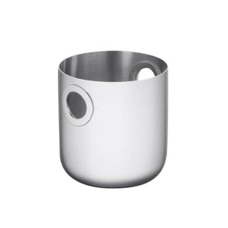 Oh De Christofle by Christofle Paris France Stainless Steel Ice Bucket New For Sale