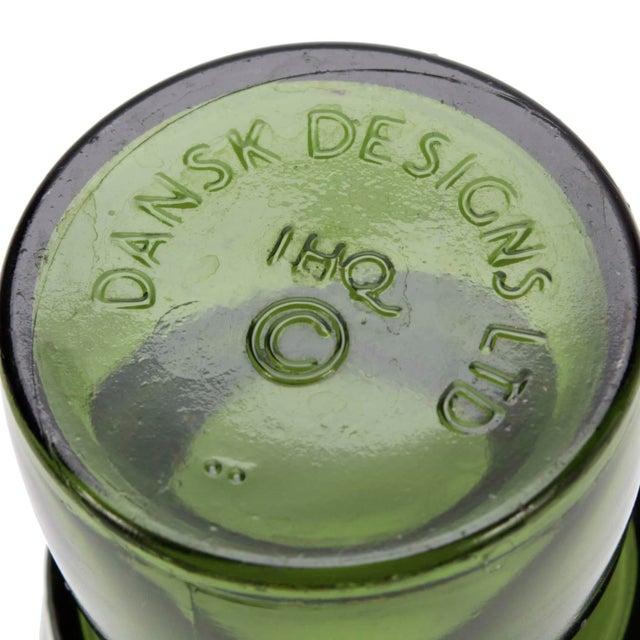 Jens Quistgaard Vintage Jens Quistgaard Dansk Designs Green Glass Candleholders, Set of 4 For Sale - Image 4 of 5